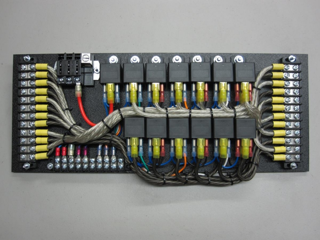 Race Car Fuse And Relay Panel - Wiring Diagram & Cable ... Race Car Relay Wiring on